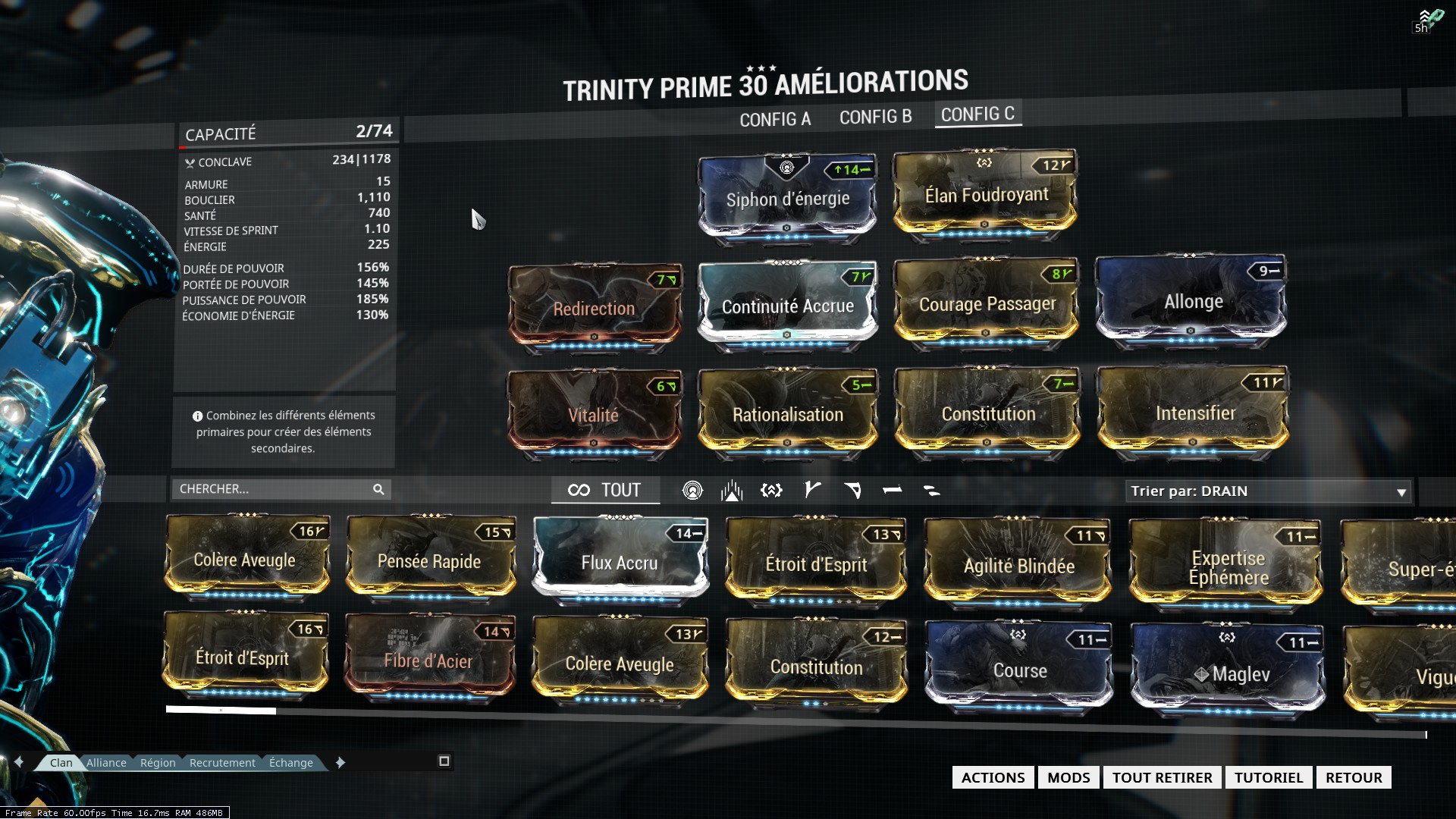 how to get trinity prime