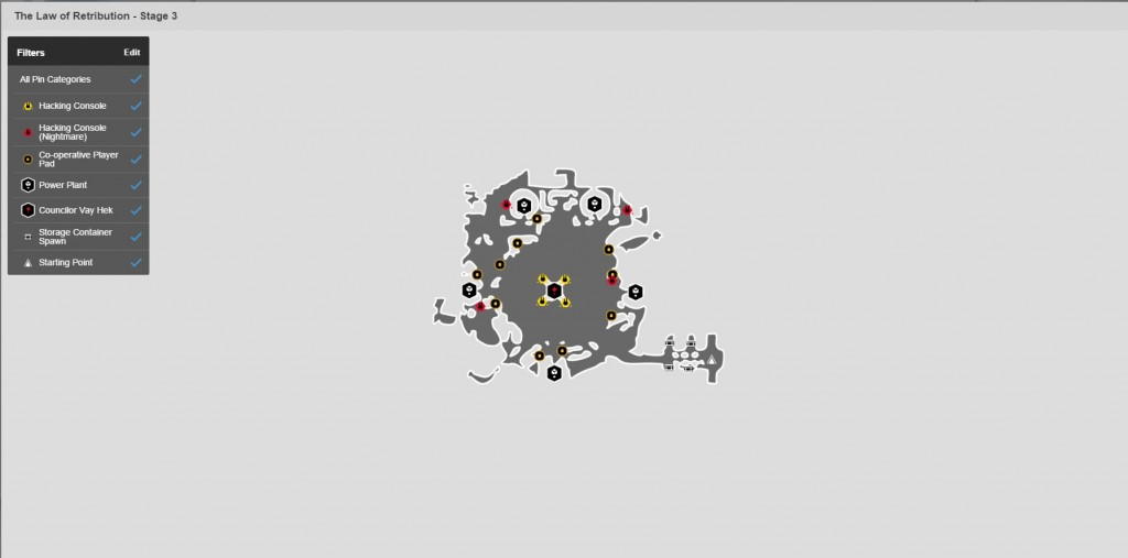 Carte stage 3 raid