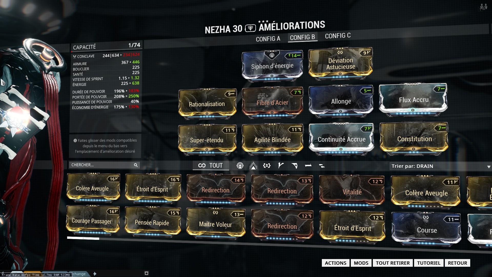 Nezha Warframe Build